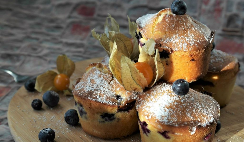 Muffins tradiconales
