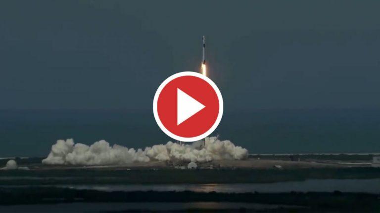 Despega la primera misión tripulada de SpaceX y la NASA