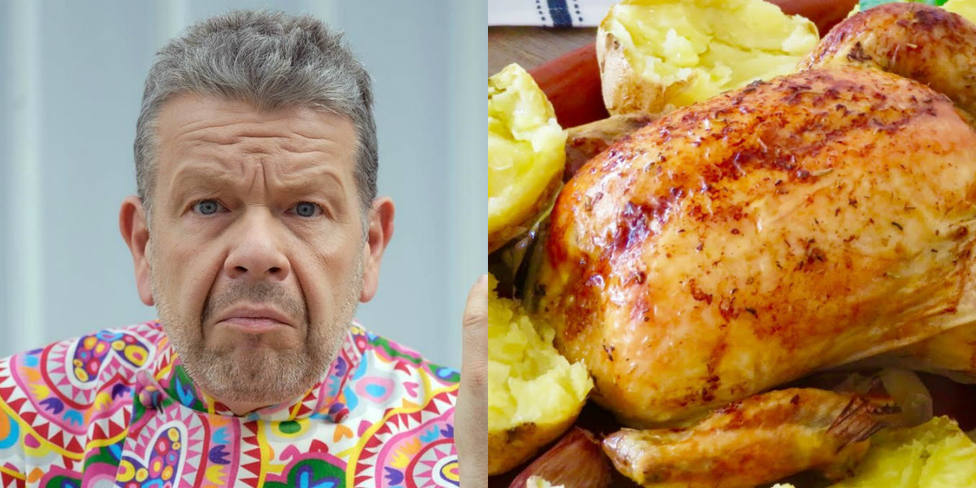Pollo asado al estilo Chicote