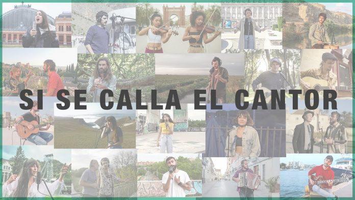 'Si el cantante calla (Juntos por una #CulturaSegura)' une a los artistas