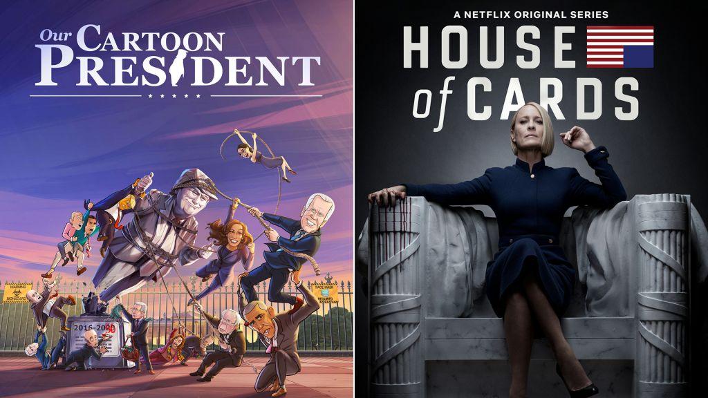 La serie animada de Donald Trump, House of Cards y otros donde conocer la Casa Blanca