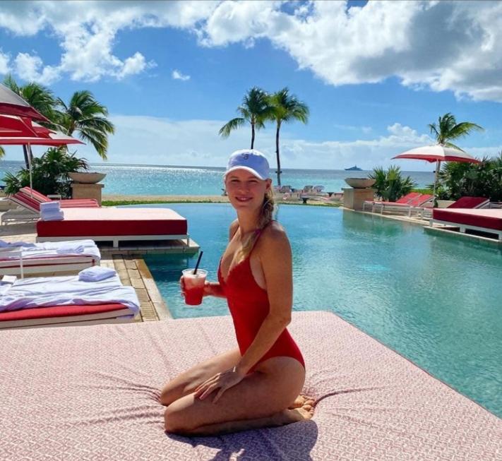 La última foto en bañador de Wozniacki que ha incendidado Instagram
