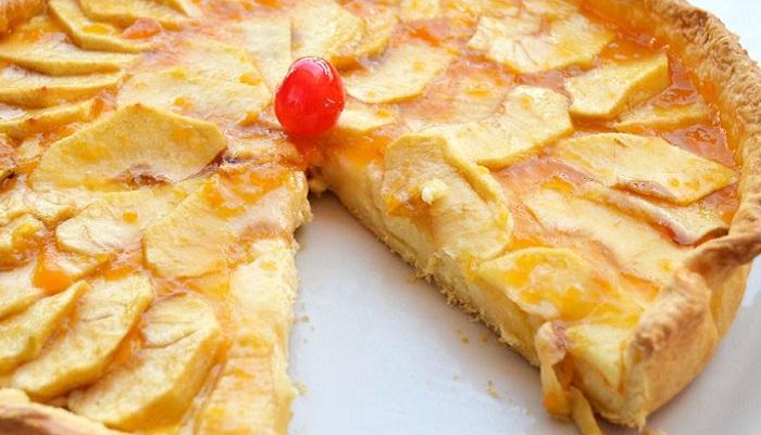 Cómo hacer la tarta de manzana sin azúcar