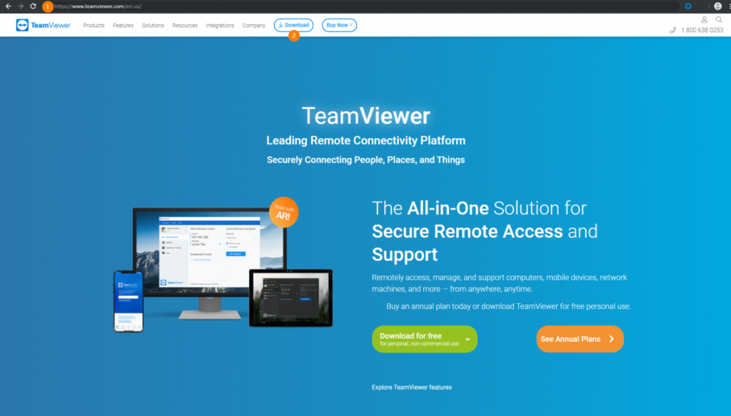 ID y contraseña de TeamViewer