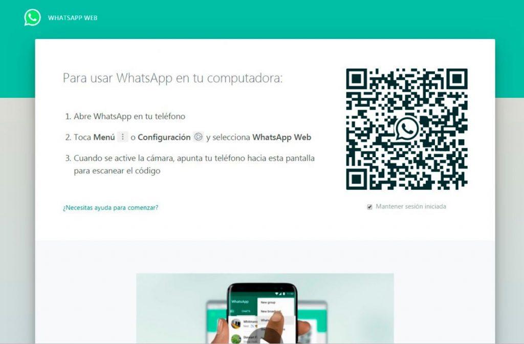 WhatsApp web se impone