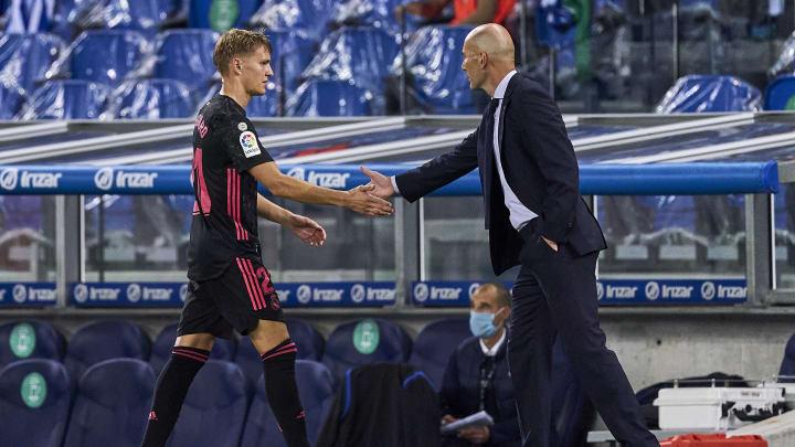Zidane podría convencer a Haaland usando su amistad con Odegaard