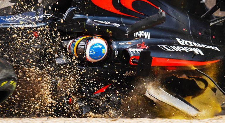 El día del accidente más grave de Alonso y otros bestiales de la Fórmula 1