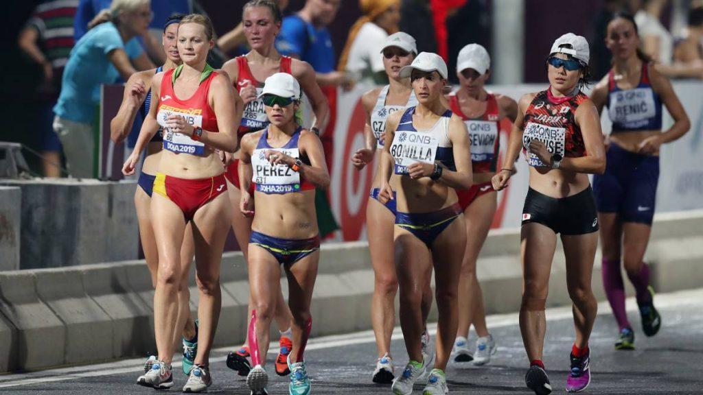 Marcha Atlética en el atletismo