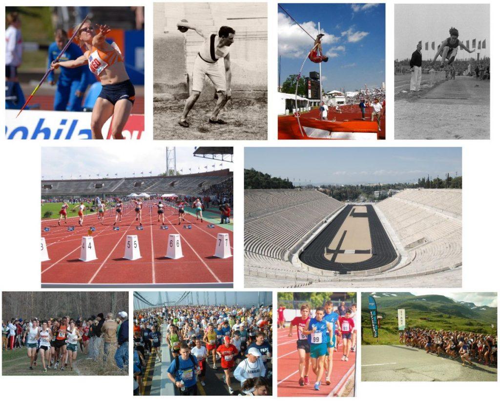 Diferentes modalidades dentro del atletismo