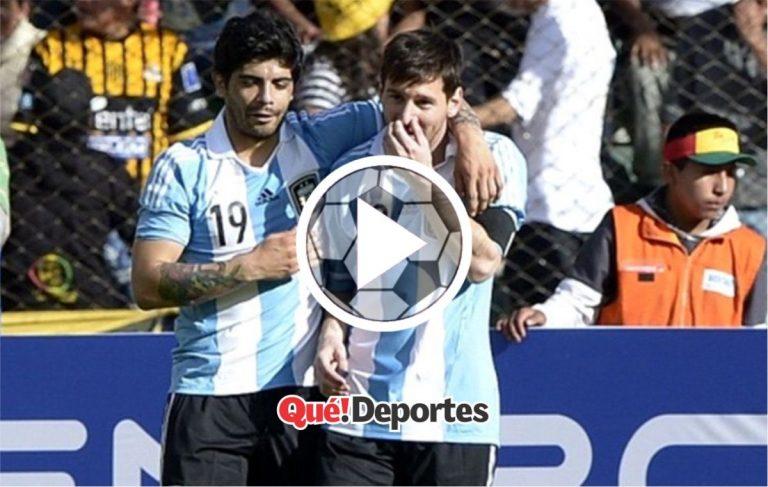 Flojo pase de Banegas y ni hablar de la definición de Lionel Messi