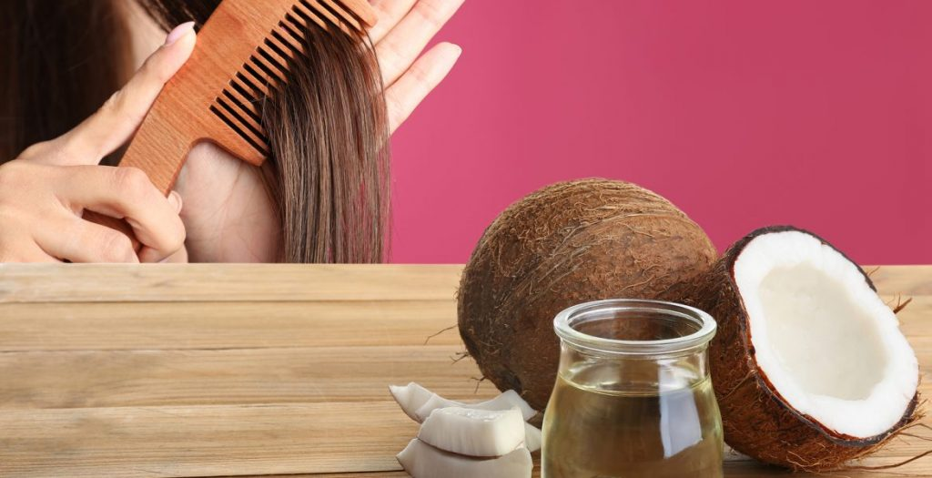 Aceite de coco perfecto para la caspa