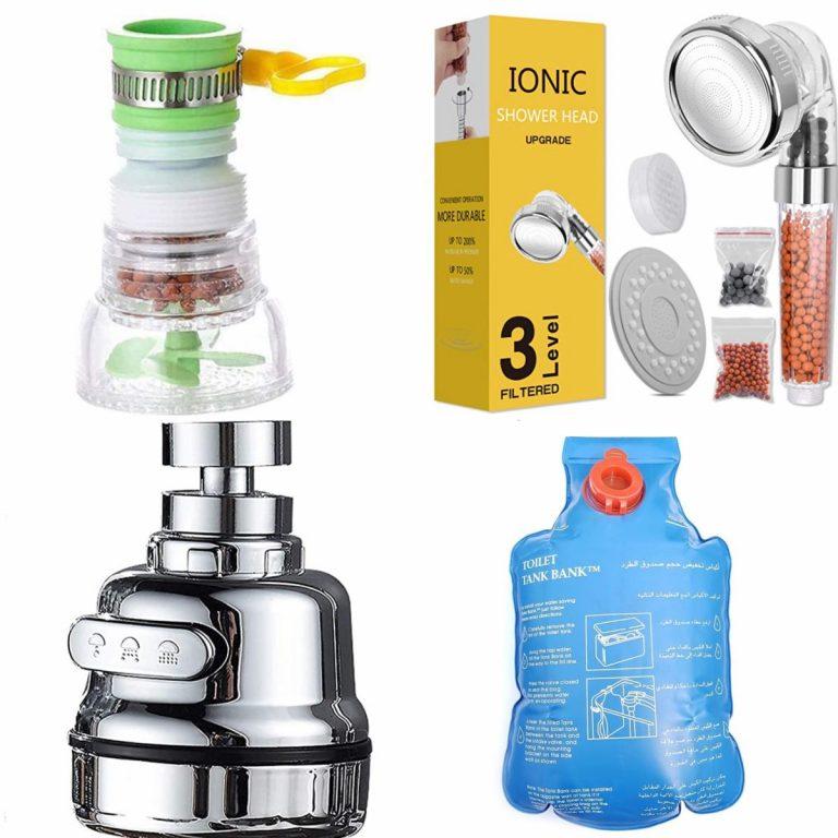 Amazon: 10 artefactos flipantes para ahorrar agua en casa a precios de risa