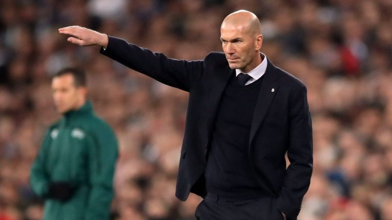 El señalado por Zinedine Zidane: fuera del Madrid en enero