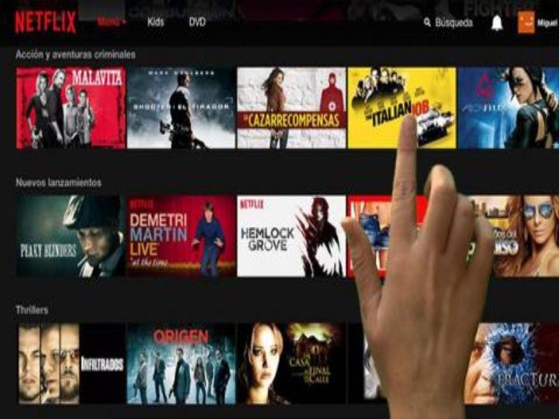 como funciona Netflix