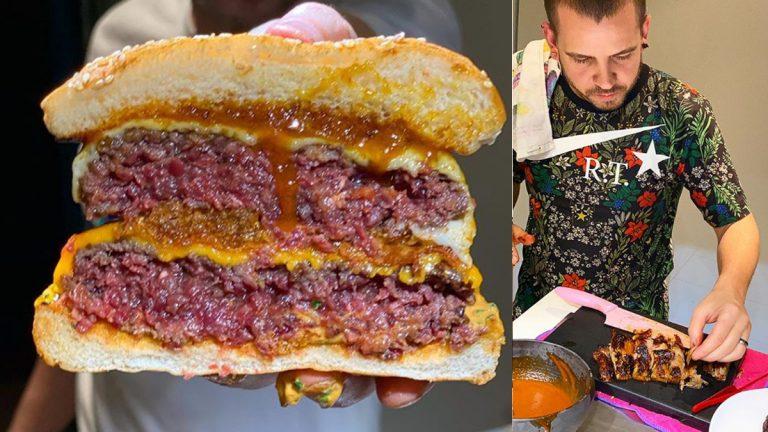Cómo hacer la hamburguesa doble espectacular de Dabiz Muñoz