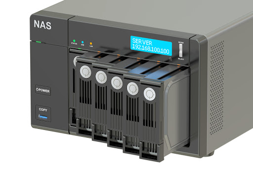 dispositivo de almacenamiento conectado