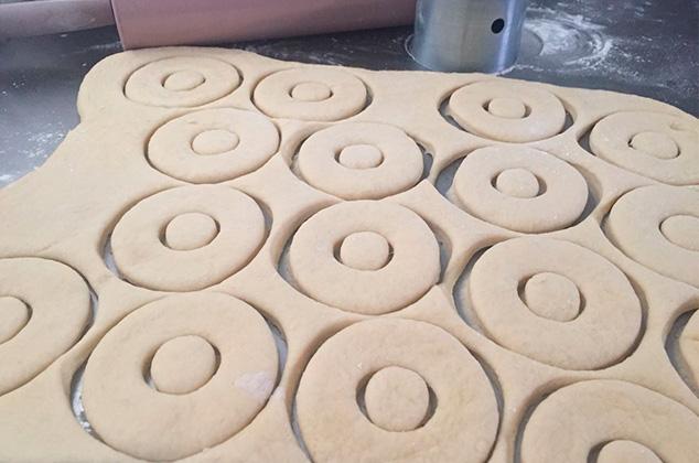 donuts  cortados