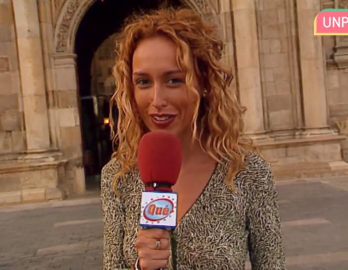 Emma García en Qué punto.