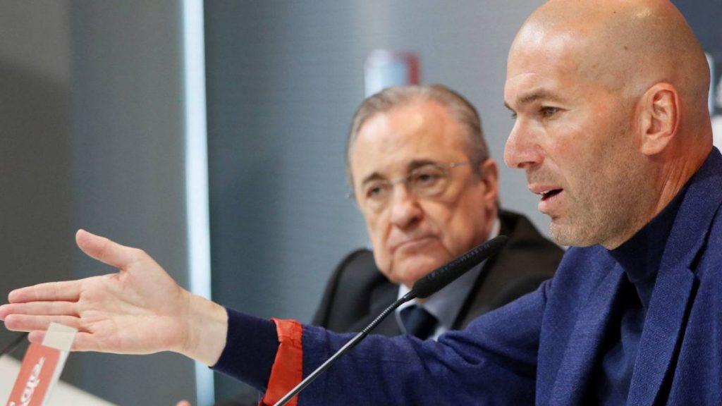 Zidane / Florentino Pérez