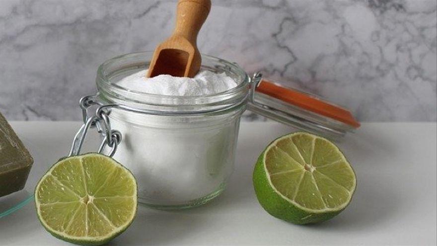 La sal gruesa con limón