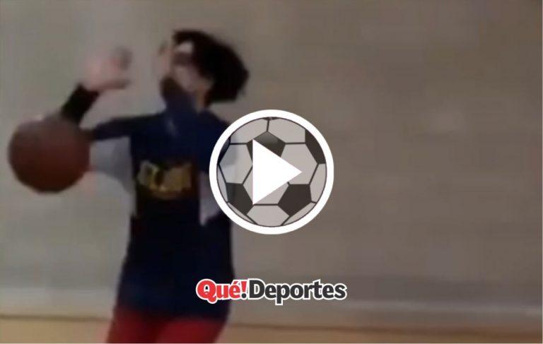 """Fut-baloncesto: Así se hace un """"gol"""" de triple"""