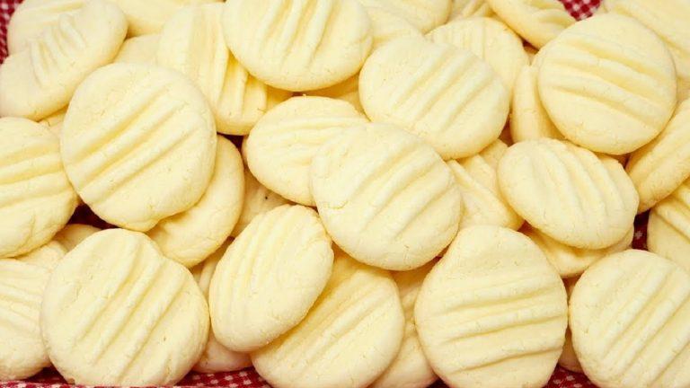 Cómo hacer unas galletas de leche condensada y Maizena