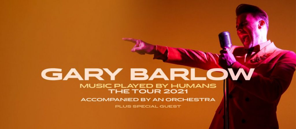 Gary Barlow Music played by humans