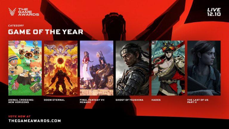 GOTY 2020: estos son los nominados a mejor juego del año