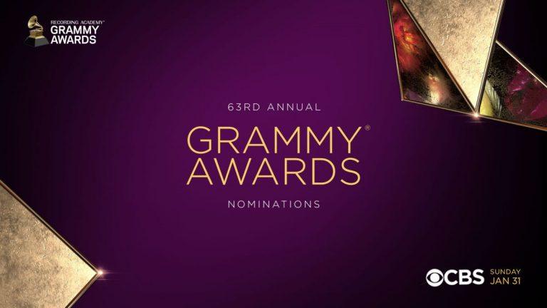 """Nominados a los premios """"Grammy Awards 2021"""""""