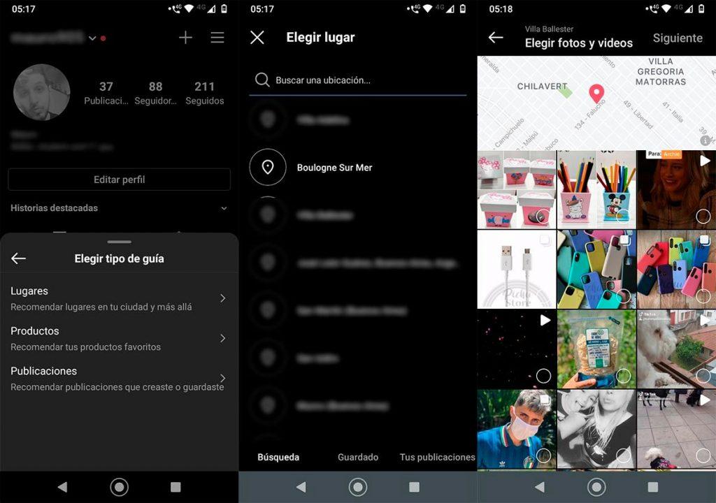 Qué son las guías de Instagram y cómo puedes usarlas