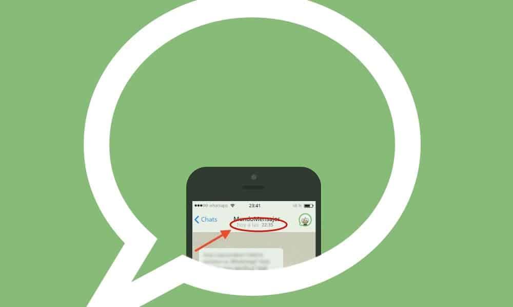 hora ultima conexion whatsapp