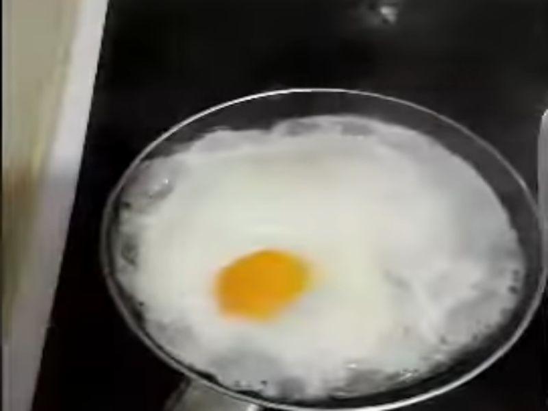 freir huevo sin aceite