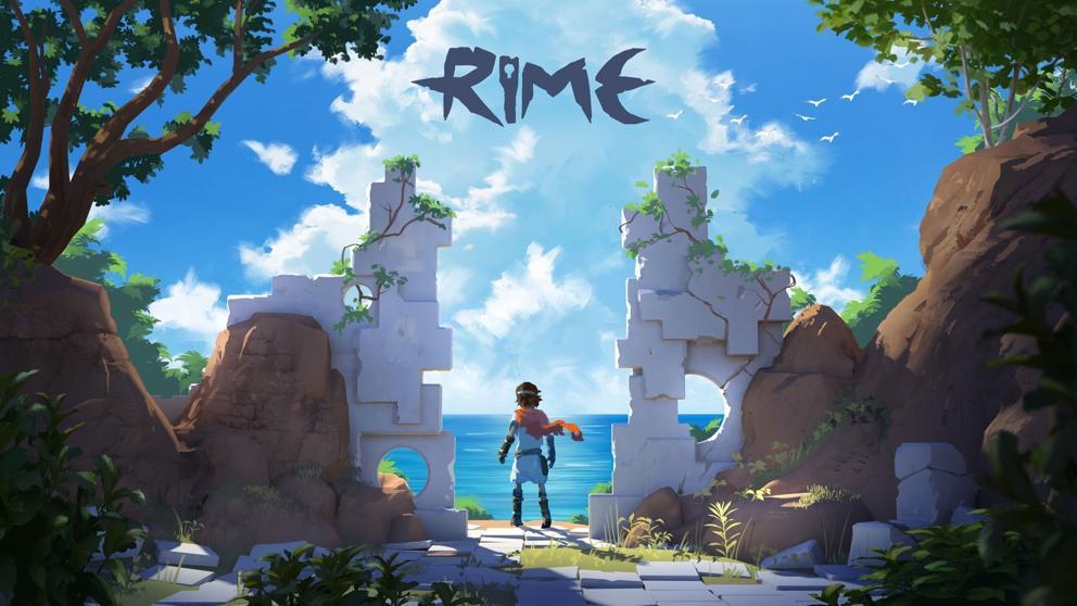 Portada de Rime, videojuego español