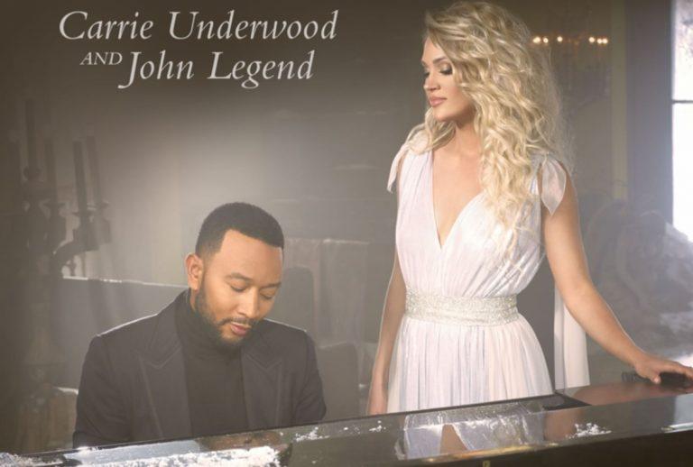 Carrie Underwood y John Legend juntos en 'Hallelujah', su dueto navideño