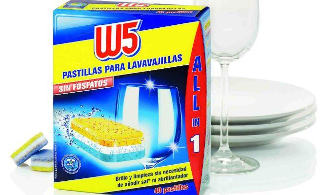 W5 Lidl. Los mejores detergentes para lavavajillas por menos de 10 euros