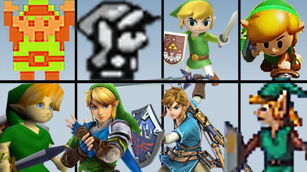 así es como ha cambiado el personaje de Link