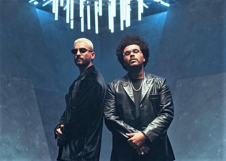 Maluma y The Weeknd juntos en 'Hawaii' (remix)