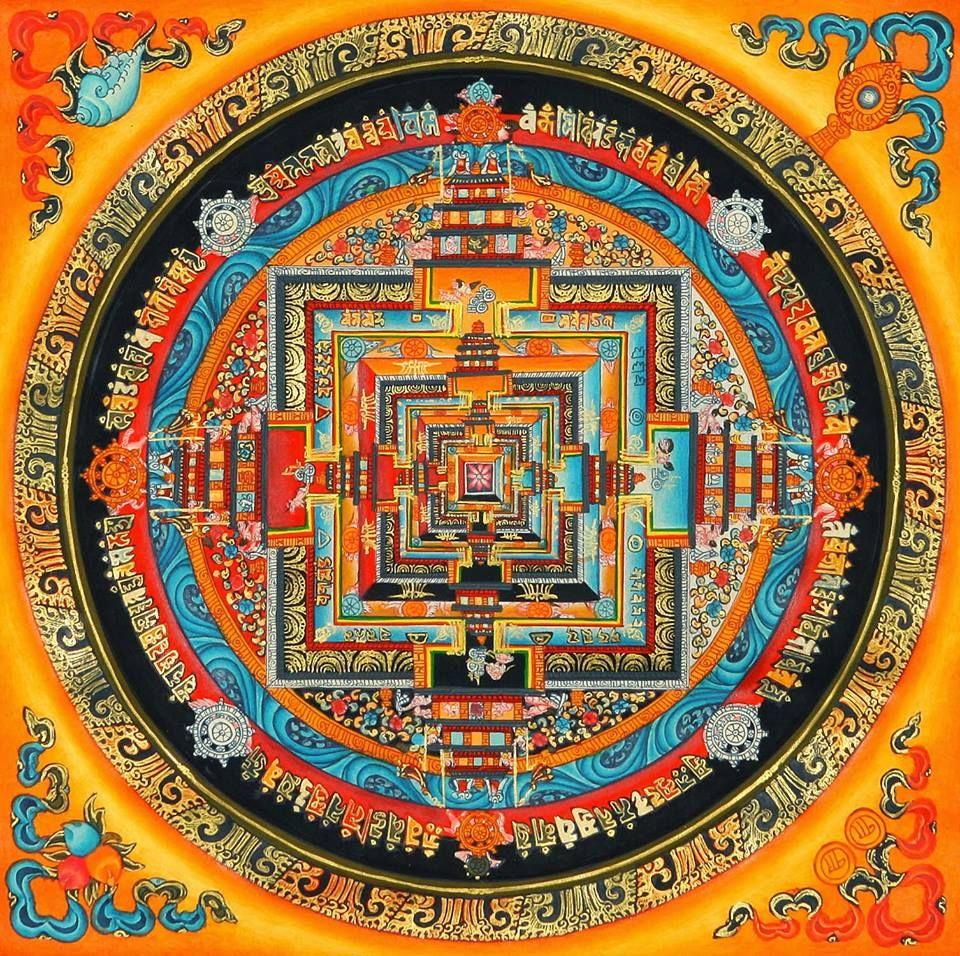 El mandala en el budismo