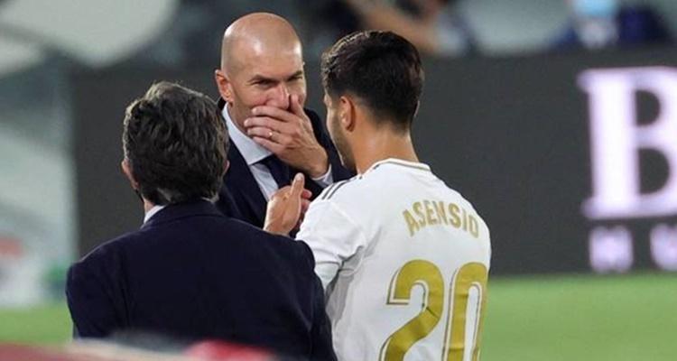 Marco Asensio Real Madrid Zidane