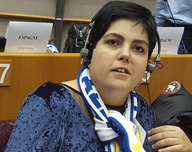 Maribel Cáceres, el rostro de la autorrepresentación de las personas con discapacidad intelectual