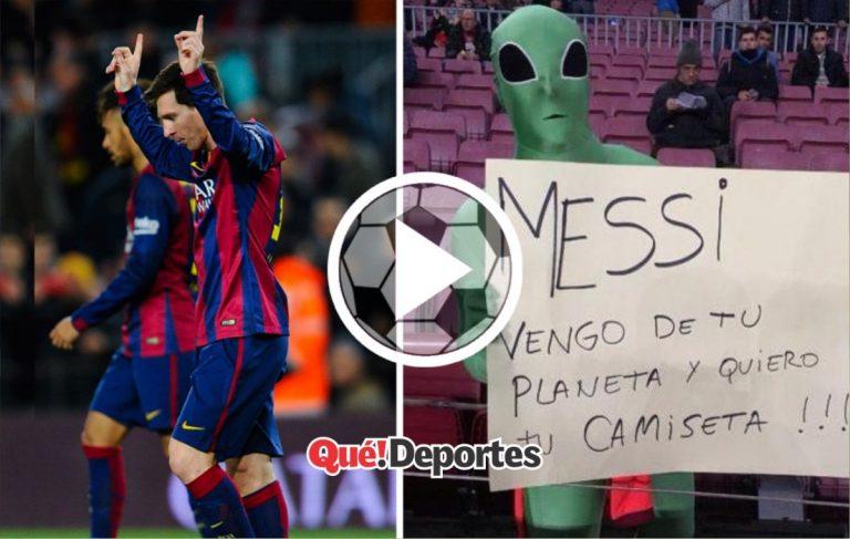 La prueba de que Messi es humano