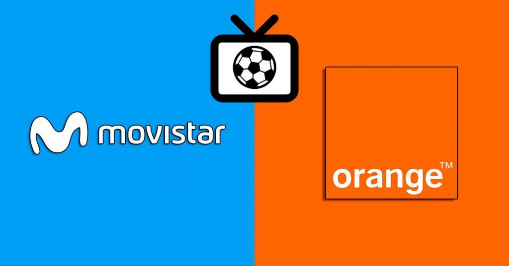 movistar vs orange ver champions y liga