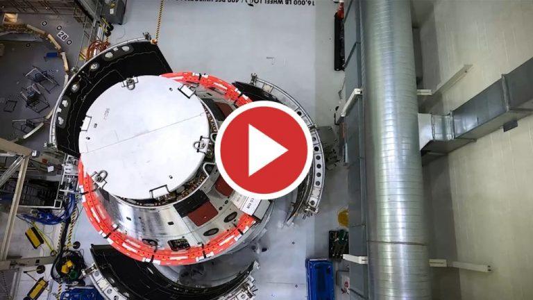 Nuevas imágenes de la nave Orion para la misión Artemisa I