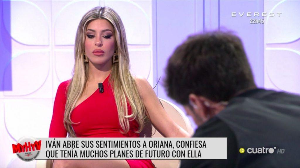 Iván González tenía planes con Oriana, ¿y con quién no?