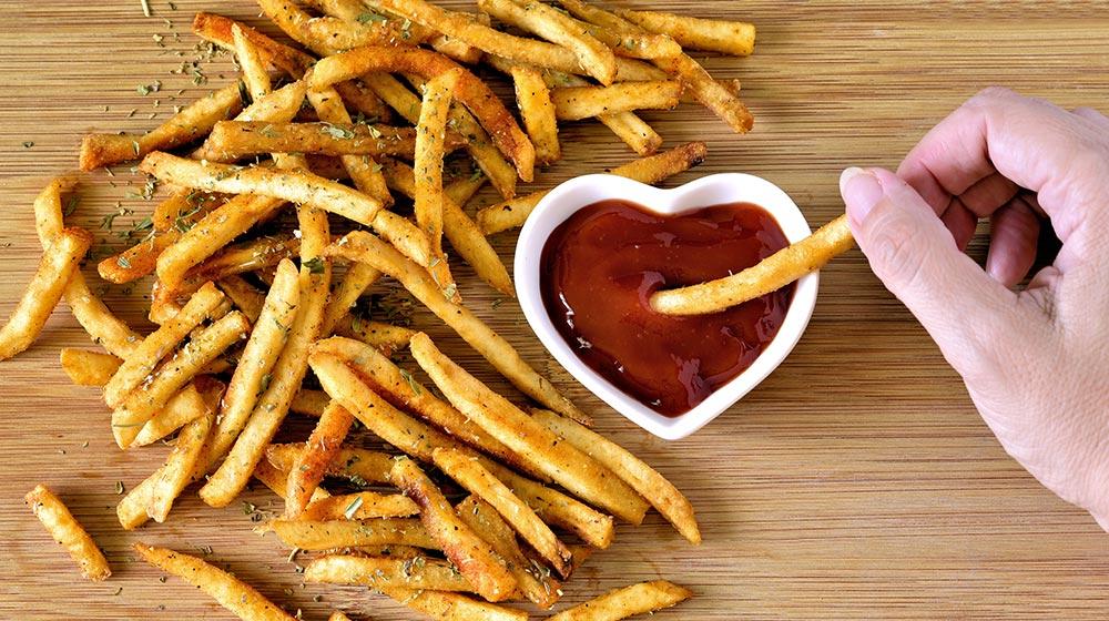 patatas deluxe del McDonald's