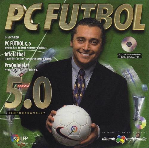 Carátula de PC Fútbol 97