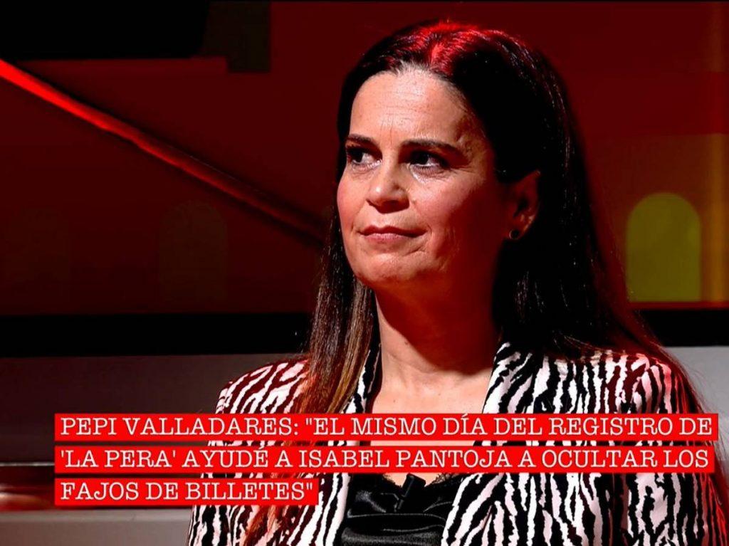Pepi Valladares contó en 'Cantora: la herencia envenenada' que ayudó a Isabel Pantoja a ocultar dinero negro.