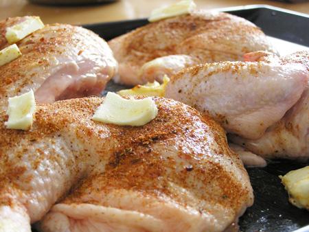 Errores al condimentar el pollo