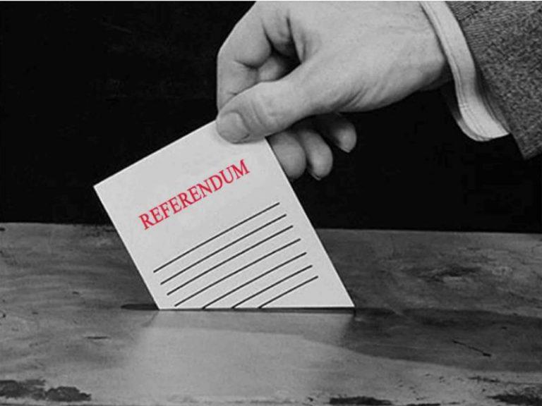 Qué es un referéndum