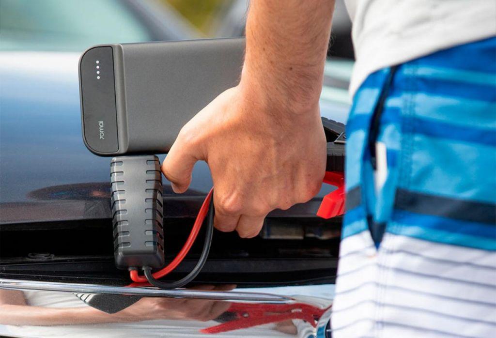 powerbank cargar coche